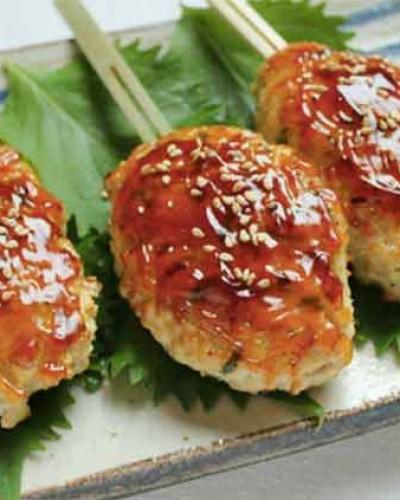 大厨小菜:っくね(日式肉丸串烧)