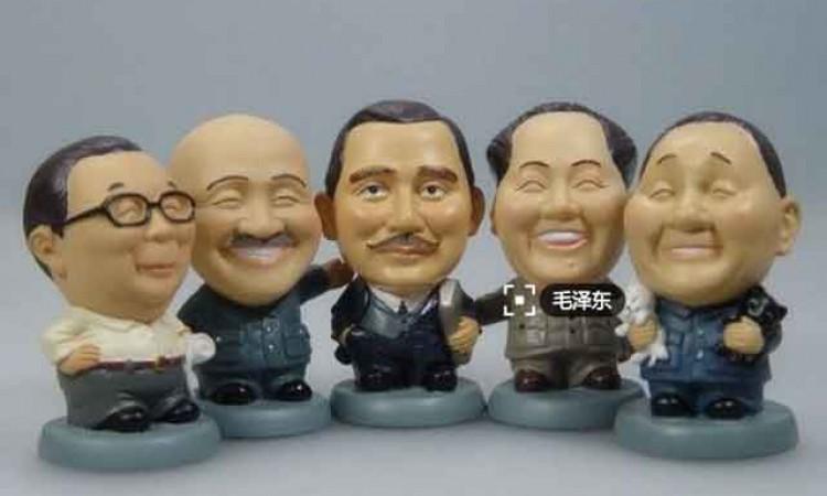 蒋委员长和中山国父的笑话